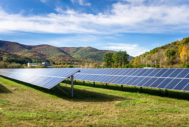 PACE - Renewable Energy with solar panels
